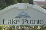 sign for Lake Pointe