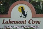 sign for Lakemont Cove