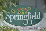 sign for Springfield I